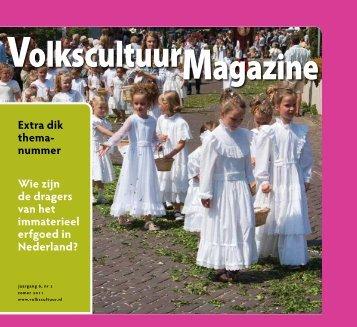volkscultuur magazine 2 2011 - Nederlands Centrum voor ...