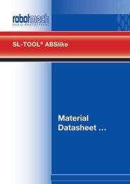 Material Datasheet …