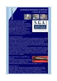 Renovaid Nieuwsbrief September 2008 - De Verf Grossier