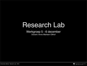 WC5 B2 Research Lab