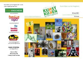 informatieboekjes - Kunst kijken op het Hogeland