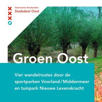wandelroutes - Sportparken Oost