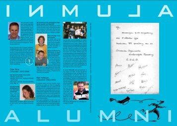 Alumni Nieuwsbrief 12 - Faculteit der Bewegingswetenschappen