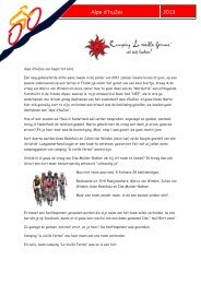Alpe d'huZes - Cycle-skate.com