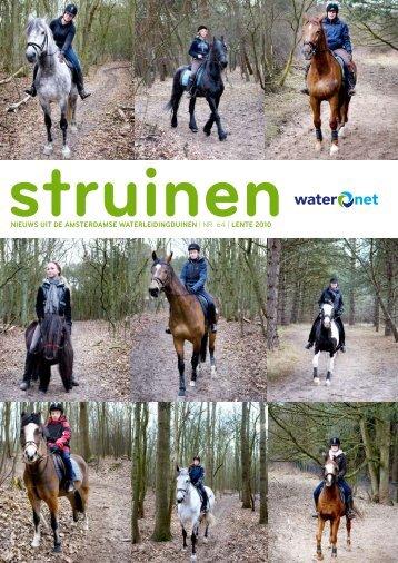 Nieuws uit de AmsterdAmse wAterleidiNgduiNeN   nr. 64 ... - Waternet