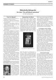 reprint larhammar SJN 200 - Forum för vetenskap och folkbildning