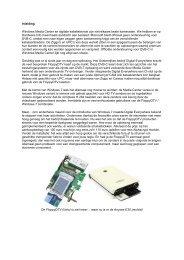 Inleiding Windows Media Center en digitale kabeltelevisie ... - FireDTV