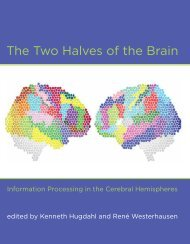 The Two Halves of the Brain: Information Processing in the Cerebral ...