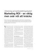 Marketing ROI - Pharma Industry - Page 2