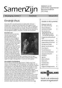 Shalomkerk Magazines