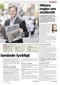 storsatsning med metro det dubbla ansvaret bloggen ... - Riksmedia - Page 5