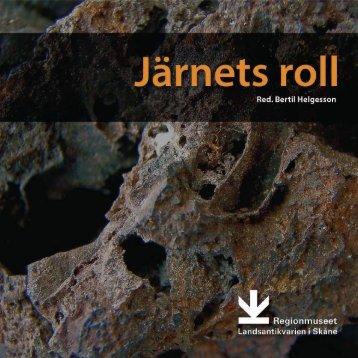 Ladda ner Järnets roll - Sydsvensk Arkeologi AB