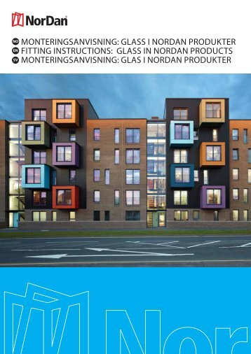glass i nordan produkter fitting instructions: glass in nordan products ...