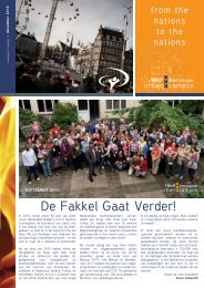 De Fakkel Gaat Verder! - YWAM Amsterdam