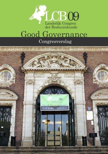 Good Governance - Evaluatie LCB 2009