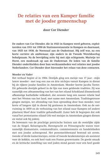 Cor Diender - Frans Walkate Archief
