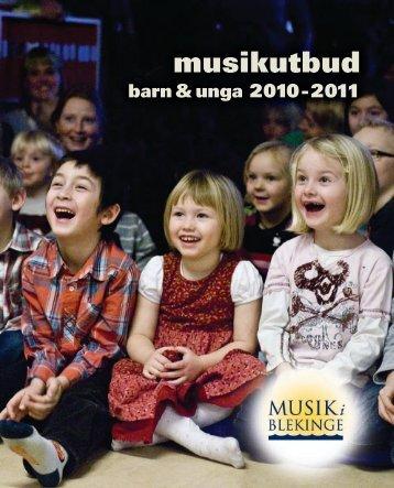 musikutbud - Musik i Blekinge