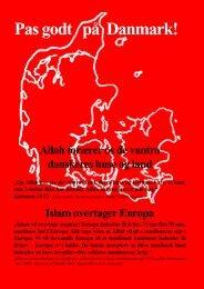 Pas godt på Danmark! - Islaminfo.dk