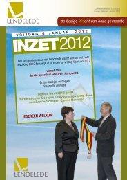 Lendeleeft januari - februari - maart 2012 - Gemeente Lendelede