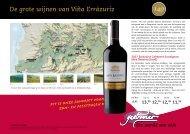 Een wereld aan wijn De grote wijnen van Viña Errázuriz - Jean Arnaud