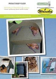 Catalogus informatie Schwegler (NL) (pdf) - Waveka - Nestkasten
