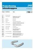 Projectbeslag voor utiliteits- en woningbouw - Voskamp Groep - Page 4