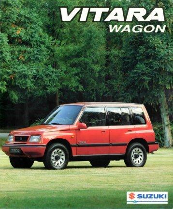 De Suzuki Vitara Wagon Grenzeloze veelzijdigheid - Harold