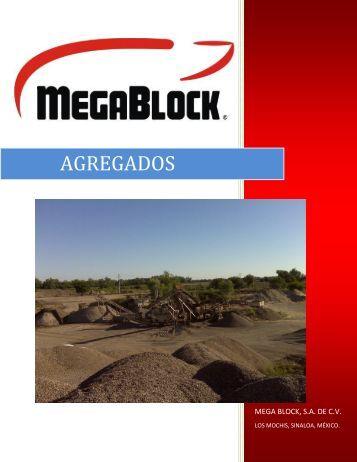 AGREGADOS - Megablock SA de CV