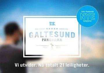 Vi utvider. Nå totalt 21 leiligheter. - Galtesund Panorama