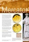 500ste verjaardag van 100 euro goudstuk de geboorte van Mercator - Page 7