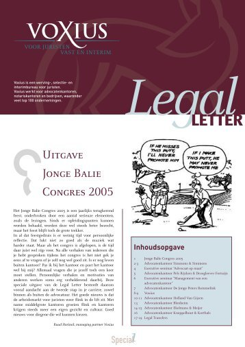 to read the Legal Letter - Voxius