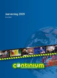 Jaarverslag 2009 - Continium