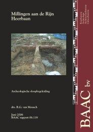 Bijlage 4 Archeologische sloopbegeleiding - Gemeente Millingen ...