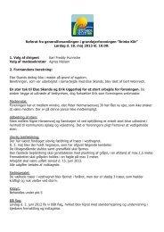 Referat fra generalforsamlingen 2013 - Kjul Strand