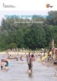 Waterplan Amsterdam Zuidoost - Stadsdeel Zuidoost - Gemeente ...