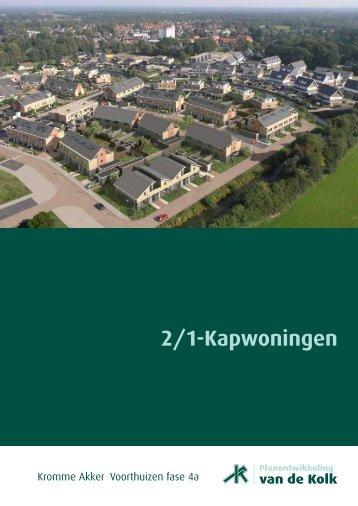 2/1-Kapwoningen - Bouwbedrijf van de Kolk