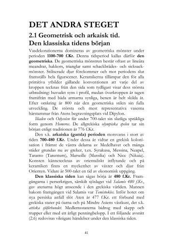 5639619bf1ca Geometrisk och arkaisk tid. - klassiskagrekland.se