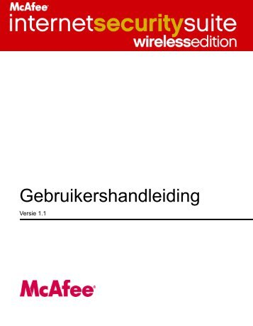 McAfee Internet Security Suite - Wireless Edition