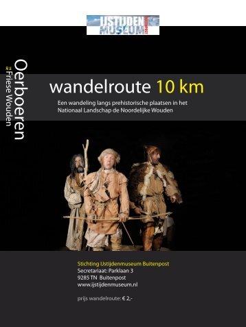wandelroute 10 km
