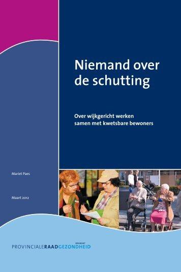 Niemand over de schutting - Provinciale Raad Gezondheid