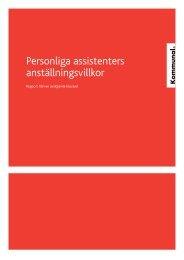 Personliga assistenters anställningsvillkor - Kommunal