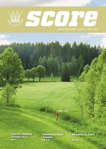 Score 2-07.indd - Borås Golfklubb
