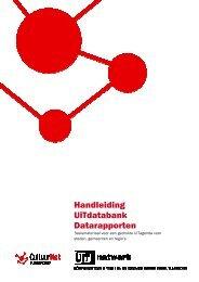 Handleiding UiTdatabank Datarapporten - CultuurNet Vlaanderen