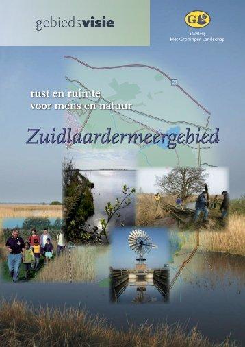 Zuidlaardermeer - Stichting Het Groninger Landschap