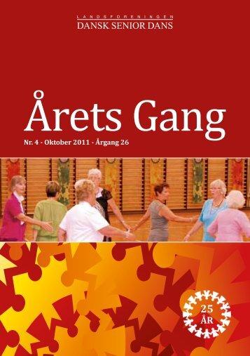 Årets Gang - Landsforeningen Dansk Senior Dans