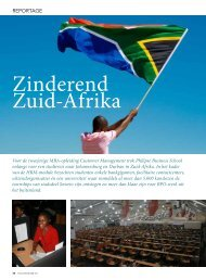 Zinderend Zuid-Afrika - Philipse Business School