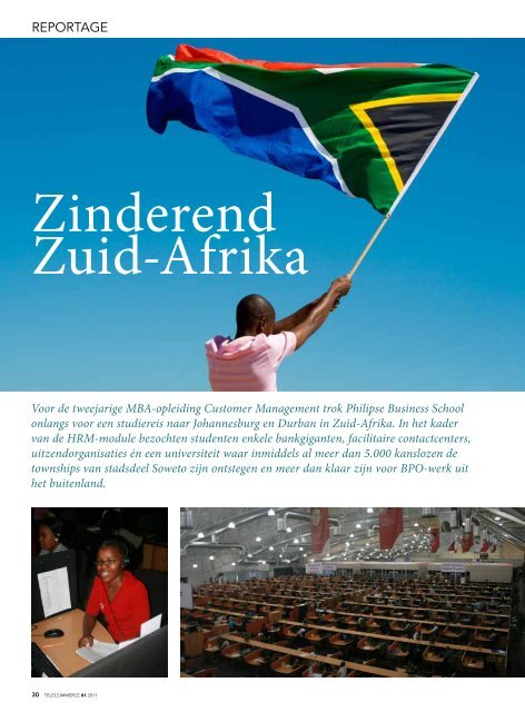 Zinderend Zuid-Afrika - Philipse Business School