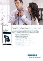 PHILIPS RQ1160/21 Scheerapparaten datasheet - EASI-SHOP