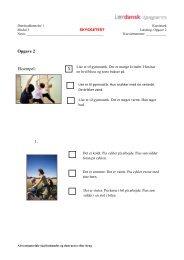 Opgave 2 Eksempel: X 1.
