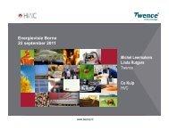 Twence - Bestuurlijke informatie gemeente Borne